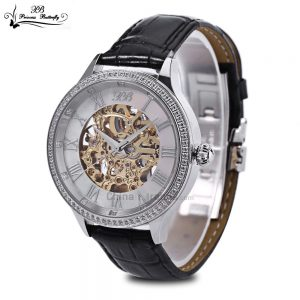 This Princess Butterfly Men Auto Mechanical Watch