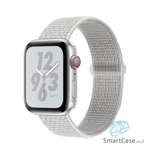 רצועת ניילון בצבע לבן עבור אפל וואצ Apple Watch
