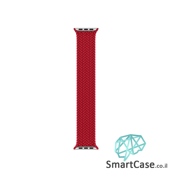 רצועת סולו-לופ חבל איכותית בצבע אדום אפל ווטש Solo Loop