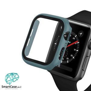 מגן מסך זכוכית היקפי ירוק כהה עבור שעון אפל ווטש 38/40/42/44 Apple Watch