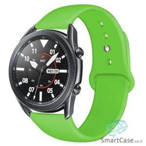 רצועת סיליקון בצבע ירוק לשעוני גלקסי וואווי גרמין הואמי