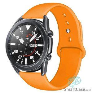 רצועת סיליקון בצבע כתום לשעוני גלקסי וואווי גרמין הואמי