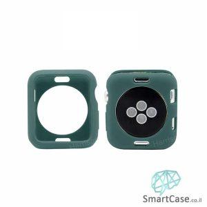 כיסוי היקפי חלקי מסיליקון Offical green עבור שעון אפל ווטש 38/40/42/44