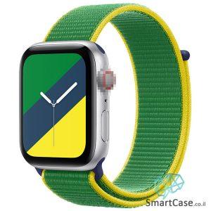 רצועת ניילון בצבע 02# Brazil עבור אפל ווטש Apple Watch - סדרת מדינות