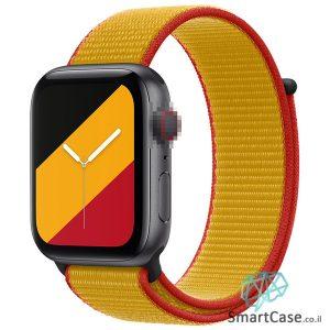 רצועת ניילון בצבע 03# Belgium עבור אפל ווטש Apple Watch - סדרת מדינות