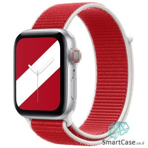 רצועת ניילון בצבע 04# Denmark עבור אפל ווטש Apple Watch - סדרת מדינות