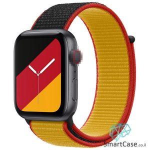 רצועת ניילון בצבע 05# Germany עבור אפל ווטש Apple Watch - סדרת מדינות