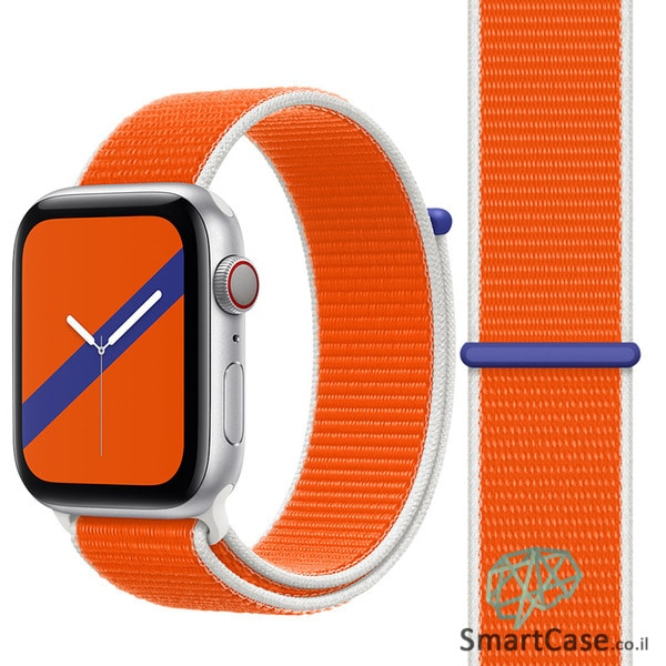 רצועת ניילון בצבע 09# Netherlands עבור אפל ווטש Apple Watch - סדרת מדינות