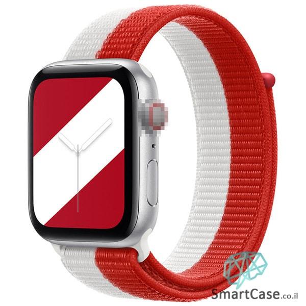 רצועת ניילון בצבע 10# Canada עבור אפל ווטש Apple Watch - סדרת מדינות