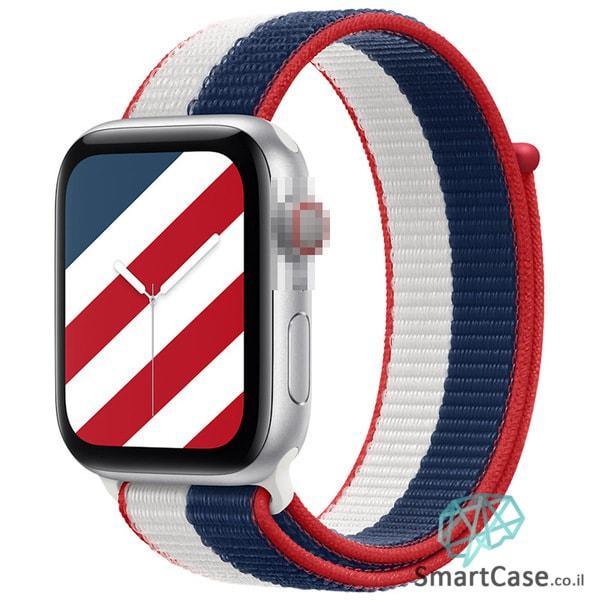 רצועת ניילון בצבע 11# America עבור אפל ווטש Apple Watch - סדרת מדינות