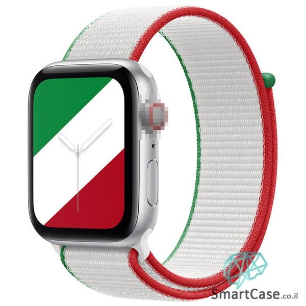 רצועת ניילון בצבע 12# Mexico עבור אפל ווטש Apple Watch - סדרת מדינות