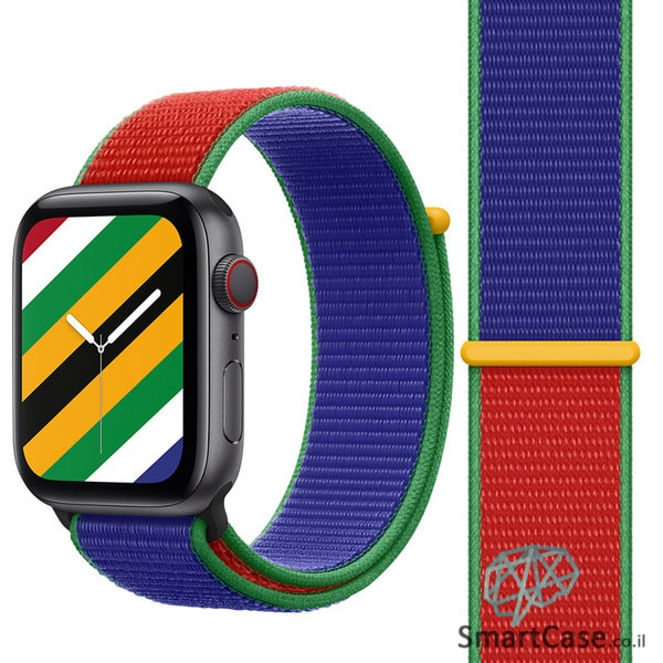 רצועת ניילון בצבע 13# South Africa עבור אפל ווטש Apple Watch - סדרת מדינות