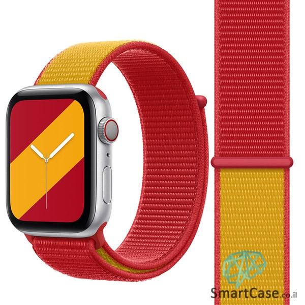 רצועת ניילון בצבע 16# Spain עבור אפל ווטש Apple Watch - סדרת מדינות