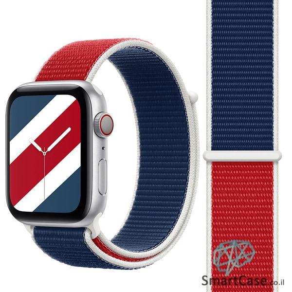 רצועת ניילון בצבע 21# England עבור אפל ווטש Apple Watch - סדרת מדינות